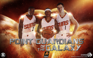 Phoenix Suns Point Guardians of the Galaxy by vndesign