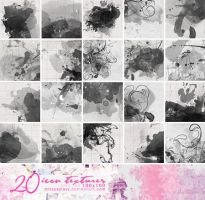 20 Watercolor icon textures by Missesglass