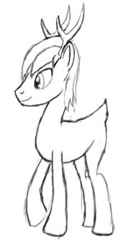 Unnamed Stag OC by SunDaw