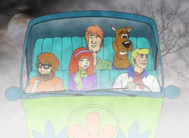 Mystery Inc. by DarkTrooper501