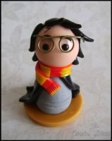 Chibi Potter by Oracle-of-Moon