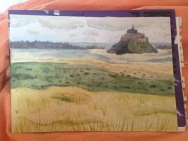 [DfW] Mt St Michel by hylidia