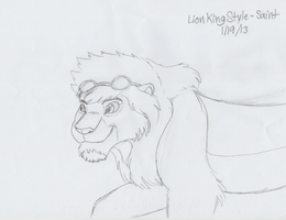 Lion King Style - Saint (WIP) by AnimeFan4Eternity23