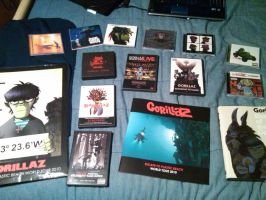 My Gorillaz Collection Pt. 1 by daftpunkgorillaz