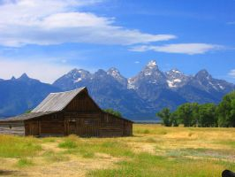 The Grand Tetons - 02 by mandeh