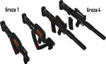 Groza 1/4 - Rigged by ProgammerNetwork