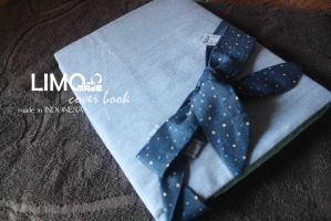 Jeans 1st  - Handmade Cover Book / Binder by LIMOmade