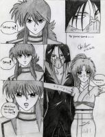 Kurama and Botan Doujinshi: Beloved by Kisarasmoon