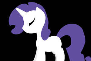 Rarity Minimalist by MartyMurray