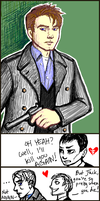 Captain Jack Harkness Tegaki by foxysquid