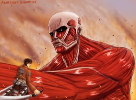 Attack on Titan by Arabesque91