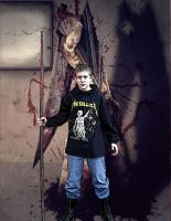 Little brother in Silent Hill by Tifa666