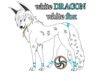 (9)whie DRAGON White fox by 777whiteDRAGON