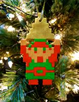 8-bit Link Ornament (Tutorial) by studioofmm