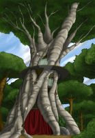 The tree-home by araeld