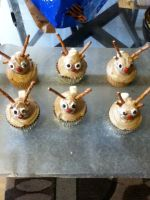 Reindeer Cupcakes by MysticalMuffinTop
