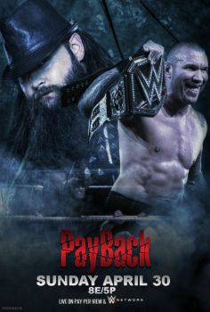 WWE PAYBACK 2017 poster by CRISPY6664