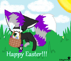 Happy Easter!!!! by starisfluffeh