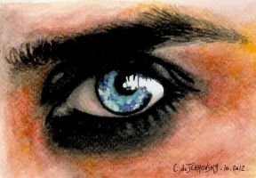 Jared's eye ... by Someone-Else79
