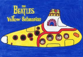 Yellow Submarine as an ocarina by gagambo