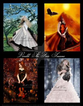 Vivaldi The Four Seasons by babsartcreations