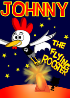 Johnny the flying rooster by MannyG86