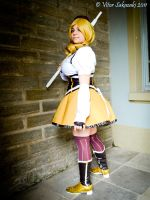 yellow mahou shoujo by absolutequeen