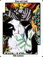 Tarot project Lovers by Armenius