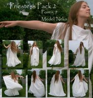 Young Priestess Pack 2 by Nekoha-stock