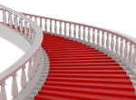 Red Carpet Stairs png by mysticmorning