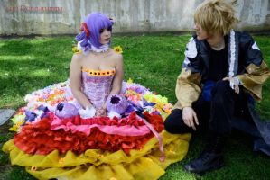 June May and Garment - Cloth Road by LelouCosplay