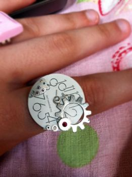 Another Steam Punk Ring by xXMCRxfanXGIRLXx