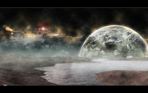 Space Scene Land by RaptorKraine