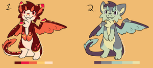 Dragon Point Adoptables - CLOSED - by Mariie-Luna