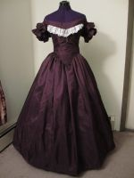 1860s Cotillion Gown by okami-san