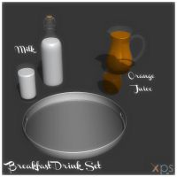 Breakfast Drink Set by KoDraCan