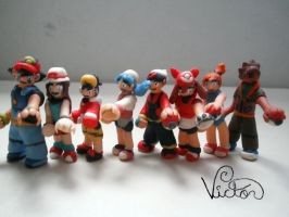 Pokemon treiners by VictorCustomizer