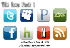 Tile Icon Pack 1 by Shoedude
