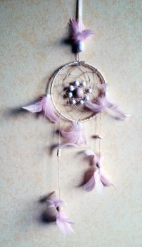 Pink Dreamcatcher by papablogueur