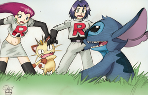 Coloured: A Wild Stitch Appeared by Pandora42