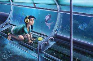 Bus under the Sea by Akany89