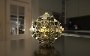 Mandelbulb 3D Print Model by nic022