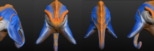 First sculptris model by Vahki530
