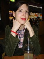 red lipstick show. by insomniana