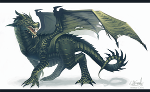 Blight Dragon by emengel