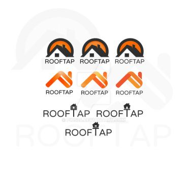 Rooftap logo concepts by pius24