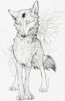 AT.: Moonflower :. by WhiteSpiritWolf