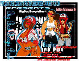 Big Bad Boogie Bash Flier by GysKing1