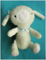 Spring Lamb Plush by elbooga