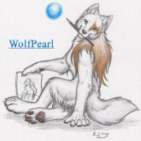 WolfPearl by Paperiapina